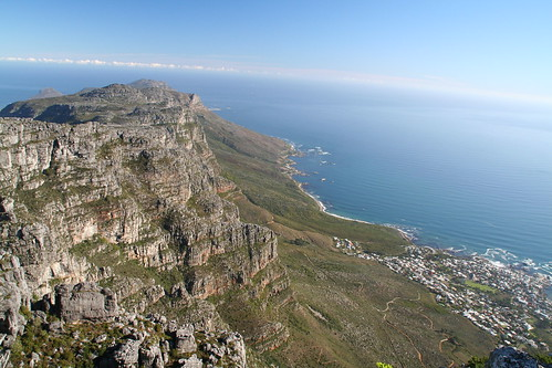View of Atlantic Ocean, Top of Table Mountain