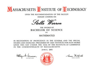Stella Warren Math Degree