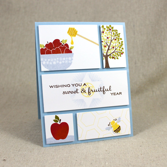 Rosh Hashanah Panels Card
