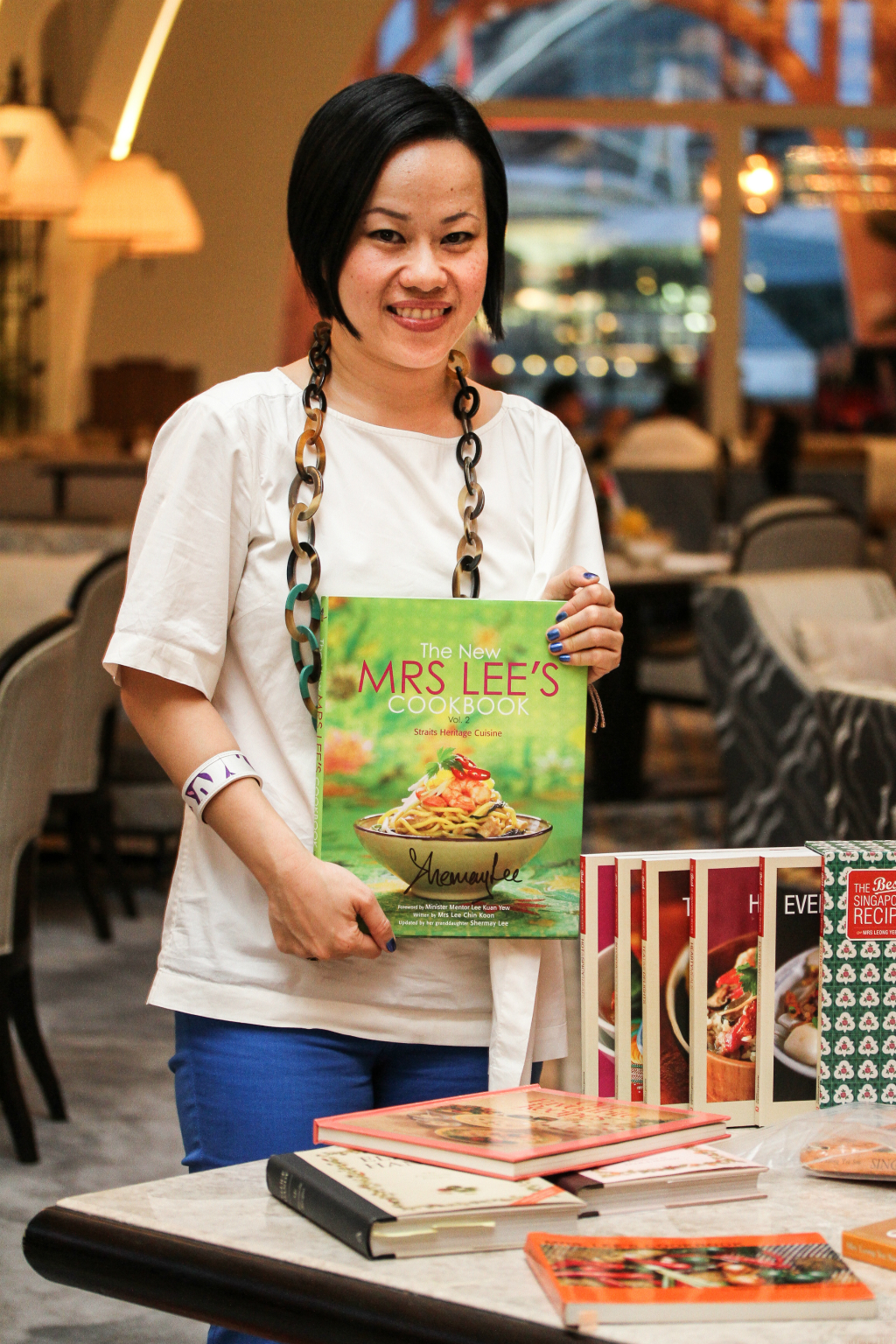 "Shermay Lee's  ""The New Mrs Lee's Cookbook"" @ The Clifford Pier"
