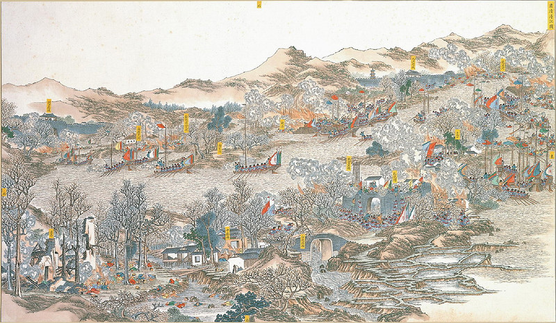 A scene of the Taiping Rebellion
