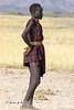 Muchacho bume en las cercanías del río Omo (Etiopia)