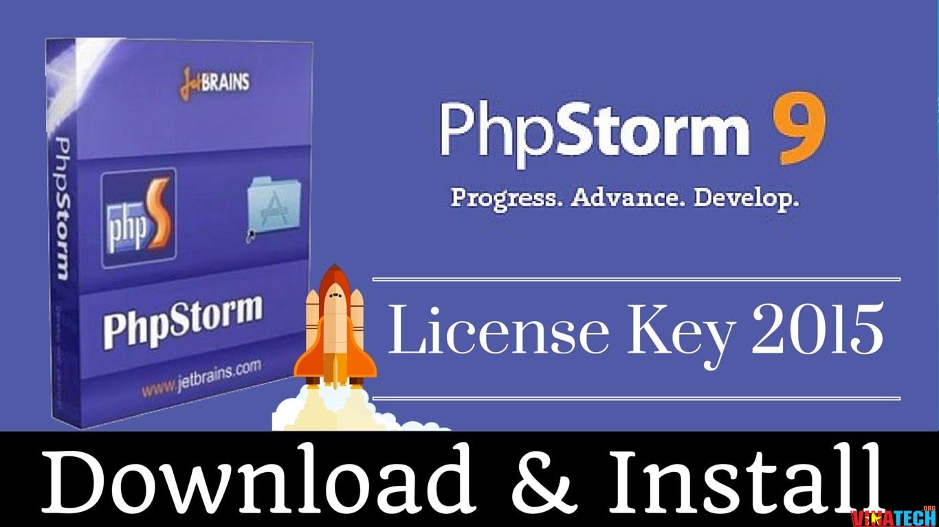 Download PhpStorm 9.0 Serial key kích hoạt bản quyền