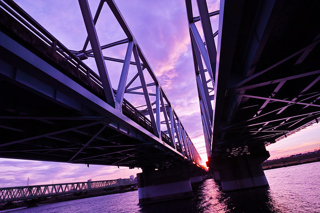 20150807_01_Bridge at the time of twilight
