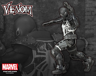 壽屋 ARTFX+ 系列【猛毒特工】Agent Venom 1/10 比例 全身雕像