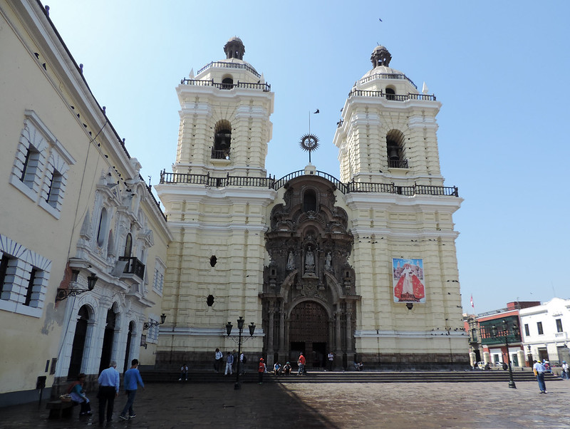 Basilique de San Francisco, Lima (Pérou)
