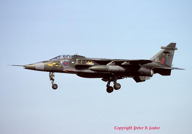 Sepecat Jaguar GR.1 XX963 AL 14 Sqn 25-03-82
