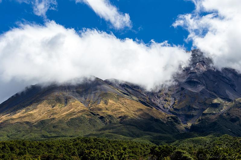 Clouds at Mount Taranaki