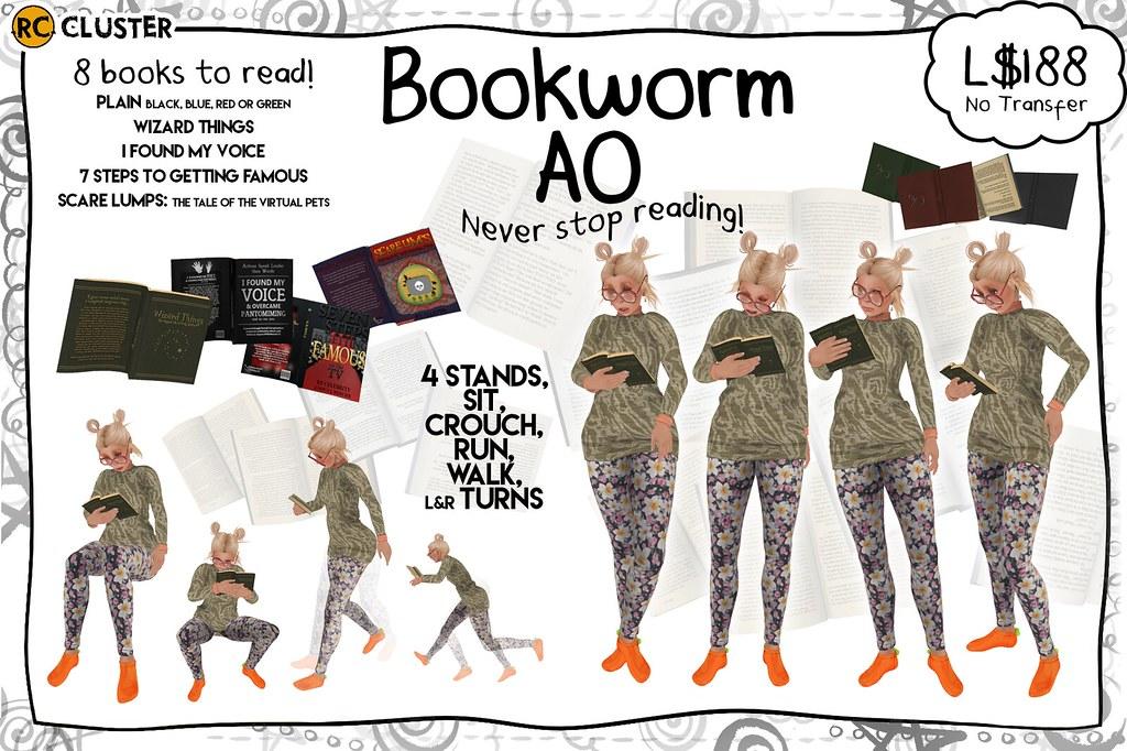 -RC- Bookworm AO - SecondLifeHub.com