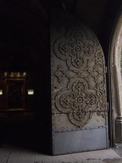 Door of old armoury