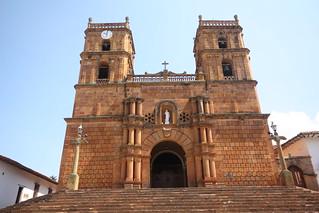 Church at Guane, near San Gil