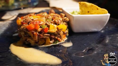 Tacos de alambre de ternera