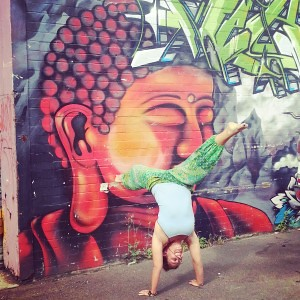Mucking around in Newtown, Sydney