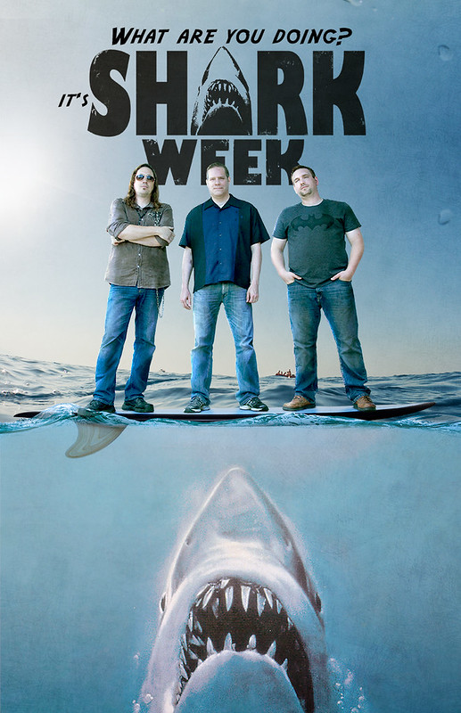 Shark Week Band Poster 2