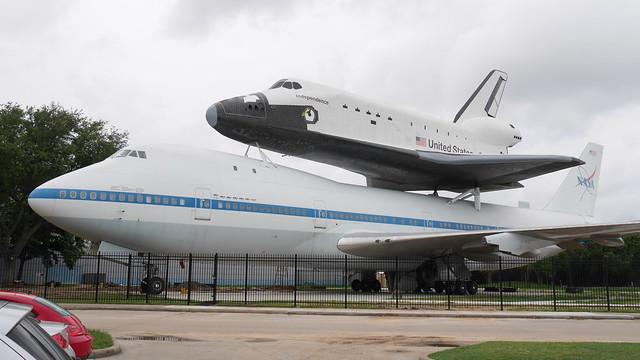 Shuttle & B747 Carrier #3