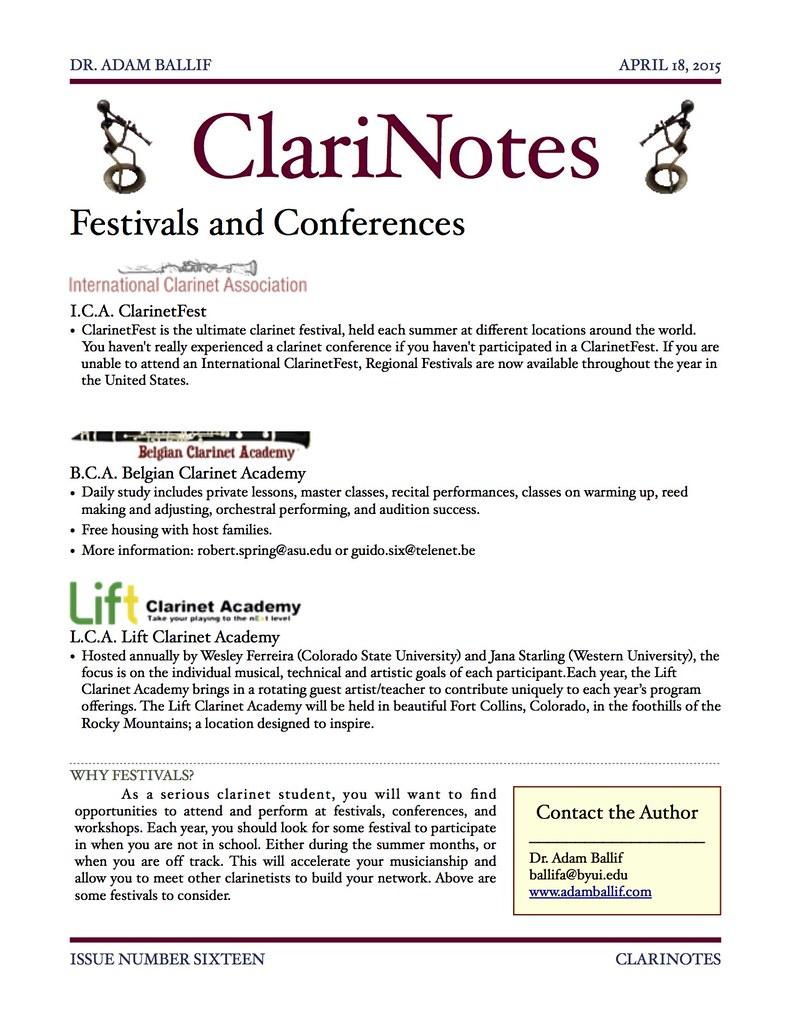 ClariNotes16
