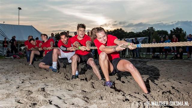 Touwtrekken Puttense Sportmarathon 2015