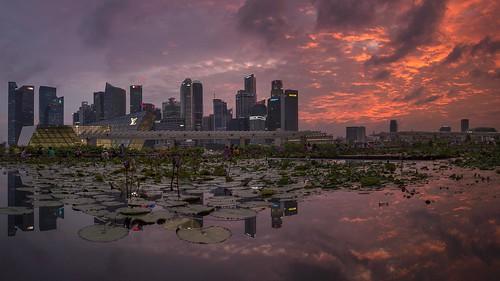 Sunset Epic @ MBS, Marina Bay Sands