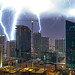 Downtown Lightning 002 by lostINmia