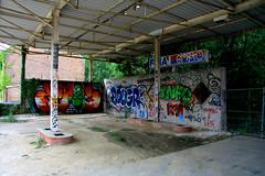 Former gas station in Doel