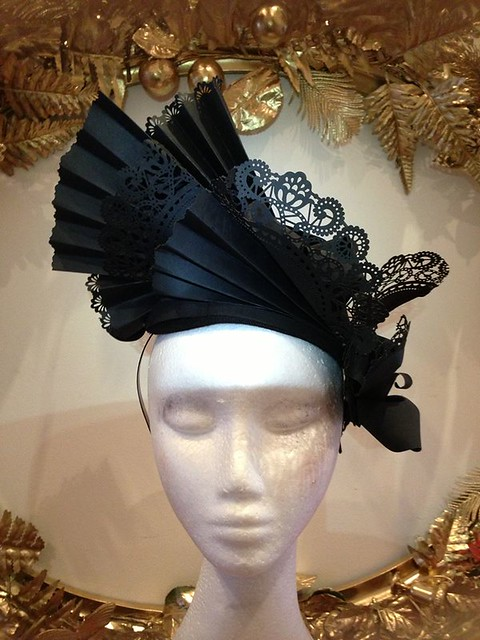 Curl Paper Pleated Hat