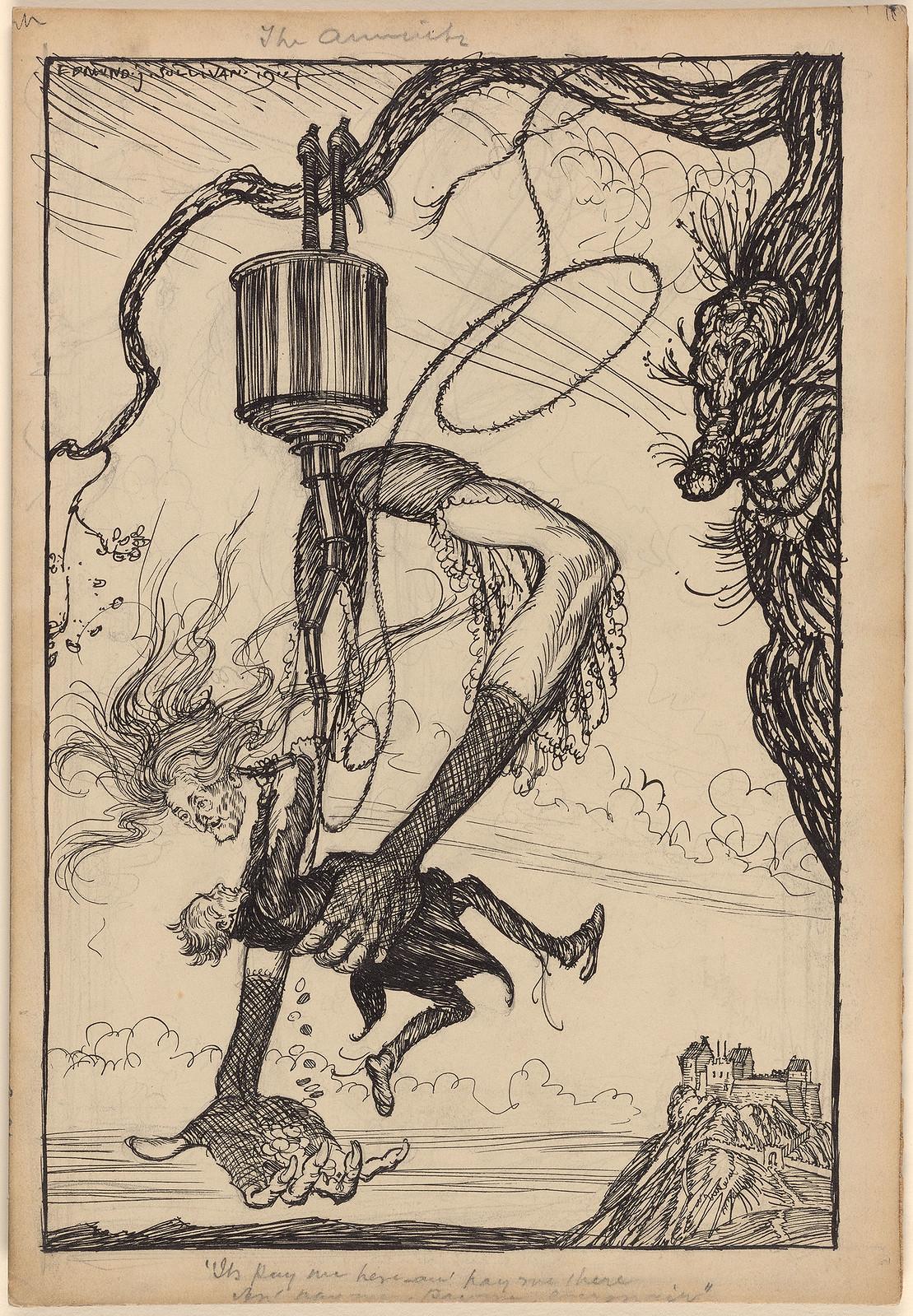 Edmund Joseph Sullivan - The Annuity II, 1914