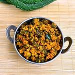 Bitter gourd fry/Pavakkai Poriyal