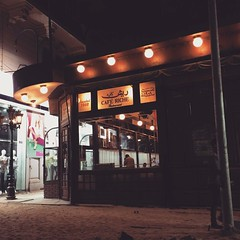 Famous cafe Riche in #downtowncairo #Cairo #Egypt #Blogger #Citizenjournalism #Cairowalks