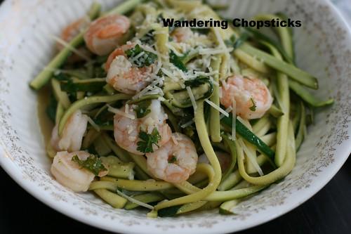 Shrimp Scampi Low Carb Zucchini Noodles 12