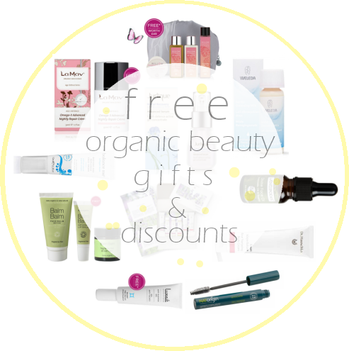 Weekly Discounts and Free Organic Beauty Gifts #29
