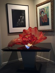 Custom Lighted Table