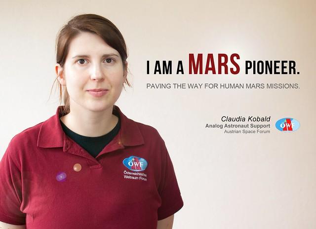 I am a Mars Pioneer