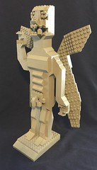 Lego Pazuzu full frontal from the left