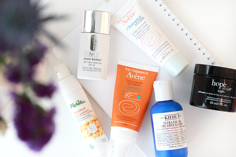 Acne Routine: Moisturisers and SPF