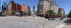 Pano of the intersection of Church and Front streets, 2015 08 02 (6)