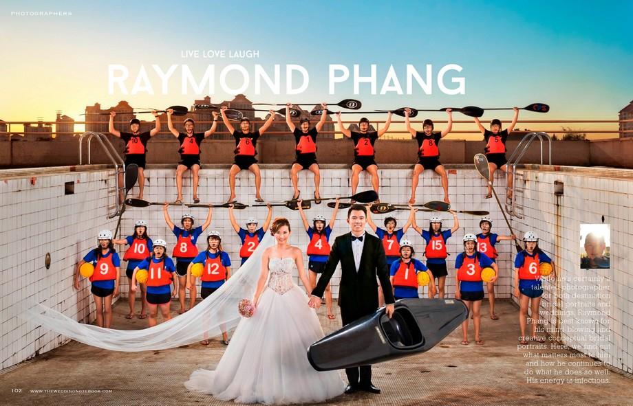 Raymond Phang The Wedding Notebook Interview