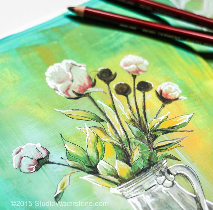 Sketchbookery: Pastel & Pen