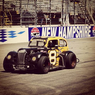 Penny is excited that today is a @nhms #uslegendscars #raceday She can't wait to see her fans! #racecar #racetrackdog #8 #HooliganMotorsports #GraniteStateLegends #nelcar #inex #legendsracing #letsgoracing  photo credit: Chris, RPM Photgraphy