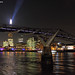 The Millennium Bridge and The Shard, London by Nigel Blake, 17 MILLION views! Many thanks!