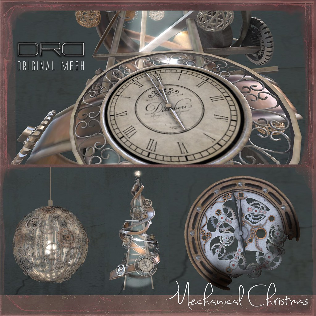Mechanical christmas - SecondLifeHub.com