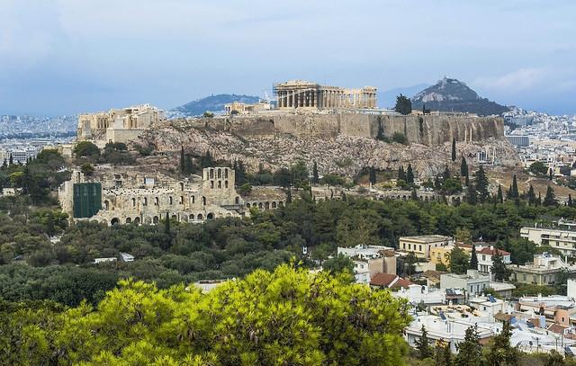 Acrópolis desde Filopapos