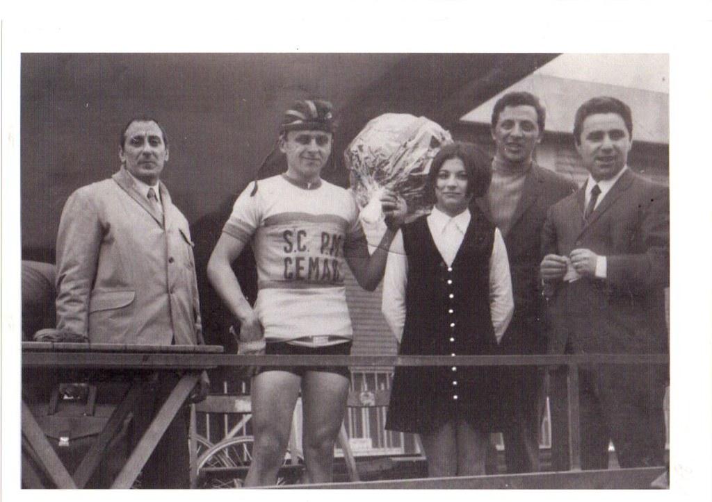 Alfonso Baratti vincitore del Giro di Romagna 1969 (2 giugno) - foto inviata dallo stesso Alfonso ..... grazie