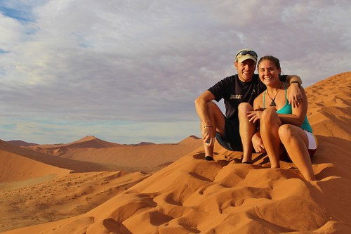 Chilling on top of Dune 45