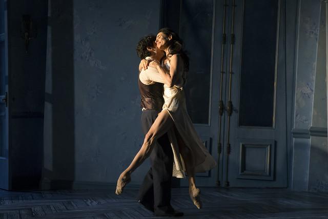 Herman Cornejo and Alessandra Ferri in Martha Clarke's Chéri © Signature Theatre. Photograph by Joan Marcus, 2015