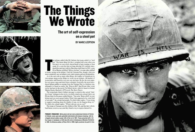 Vietnam War - The Thing We Wrote