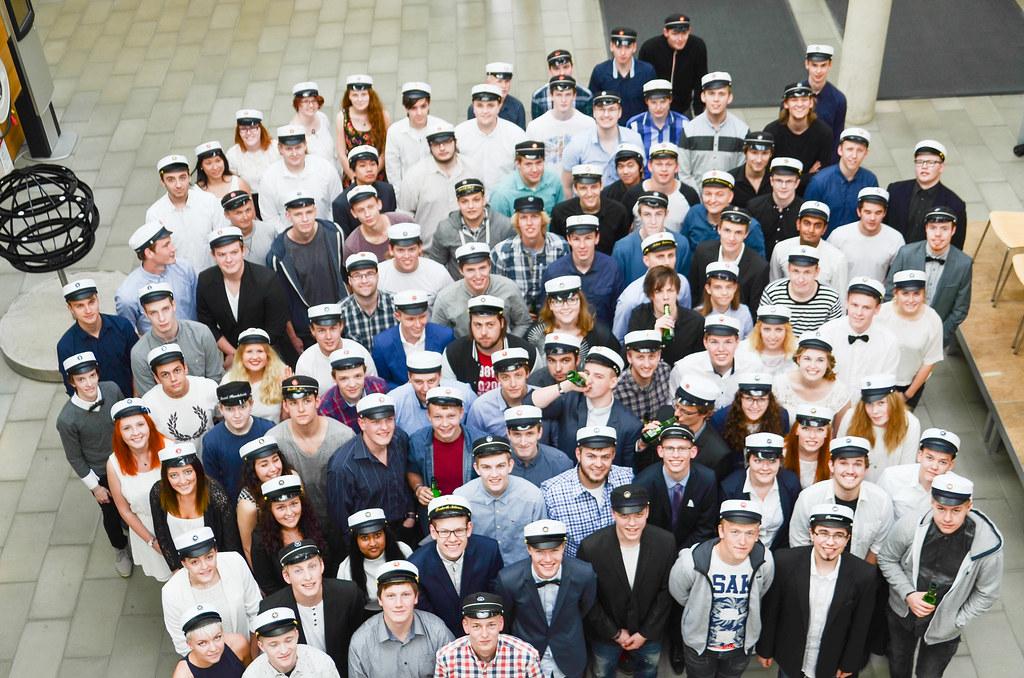 Billeder af studenter 2015