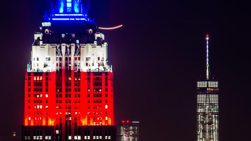 Vivid New York / Empire States Building + WTC