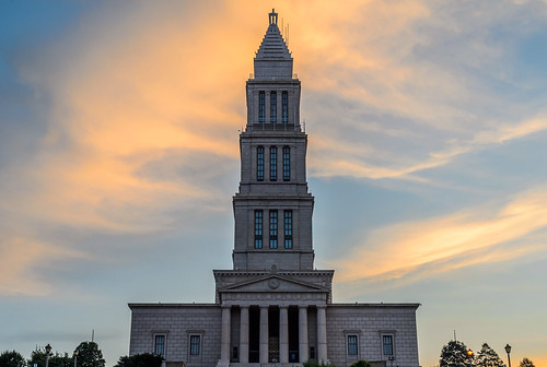 The George Washington Masonic Temple by Geoff Livingston