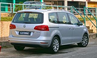 2013 Volkswagen Sharan 2.0 TSI 5-door MPV