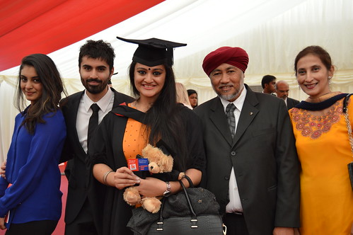 Jasvinder Kaur with her family